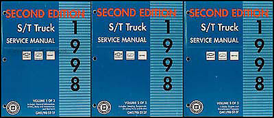1998 chevy blazer repair manual pdf
