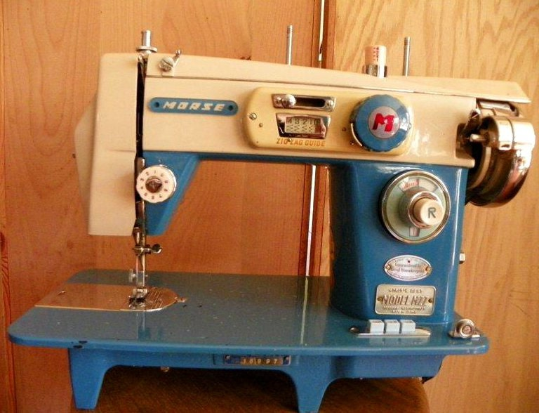 manual for morse sewing machine model mzz