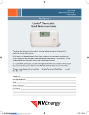 carrier programmable thermostat manual pdf