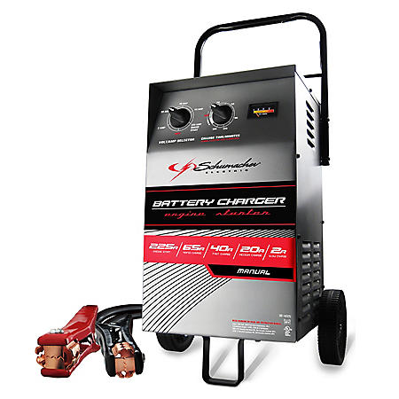 schumacher battery charger model sc10 manual